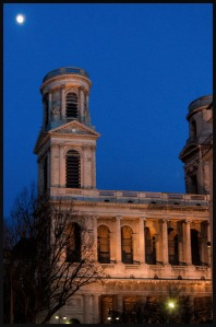 St. Sulpice Moon, copyright 2014 Richard Beban