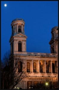 St. Sulpice Moon, copyright 2014 Richard Beban